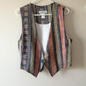 Jackets & Blazers - Indie vest !