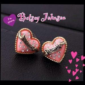 BUNDLEDPink Heart Earring