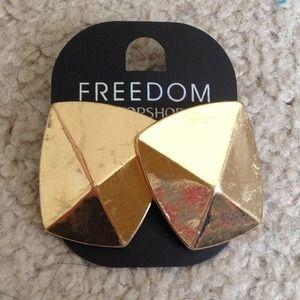 Topshop Gold Earrings