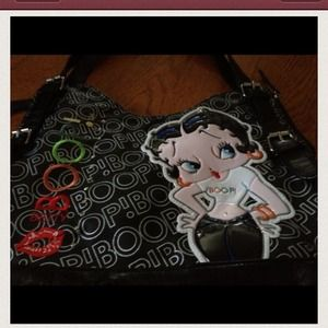 Handbags - New large size Betty Boop pocketbook