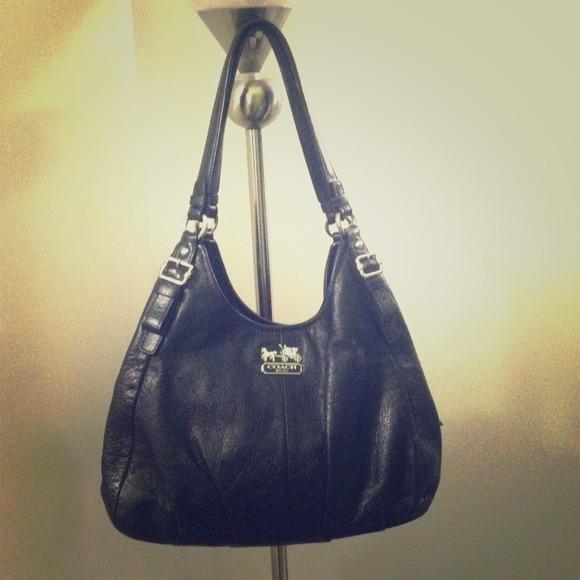 coach bags authentic leather purse poshmark