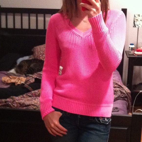 60% off J. Crew Sweaters - ⛔⛔⛔BUNDLED⛔⛔⛔Neon pink cotton ...