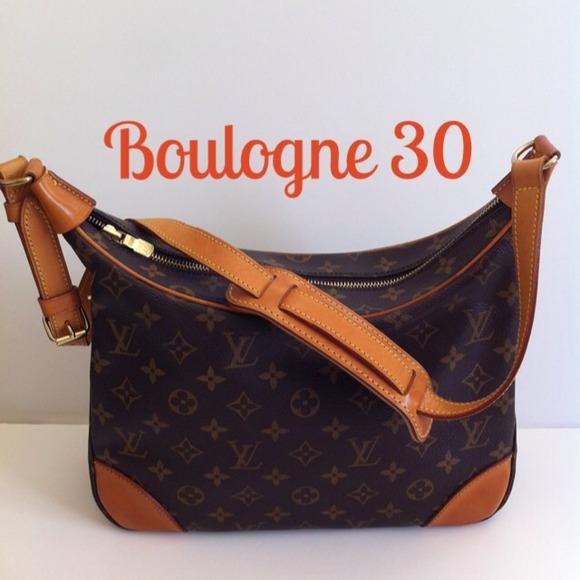 Louis Vuitton Bags   Sold To A Friendauthentic Lv Boulogne 30   Poshmark 6eedb4de4a
