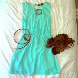 Seafoam Green Jondie Dress