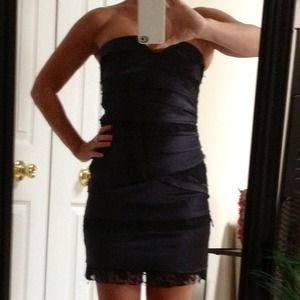 BCBG strapless bandage dress 💃💃 NWOT