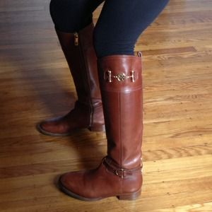 Tory Burch Riding Boots 6.5