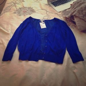 Blue H&M sweater