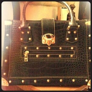 Handbags - Stylish studded arm bag HOLD