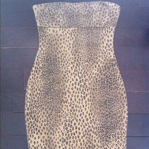 Zara Leopard Mini Dress