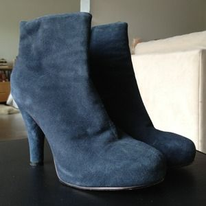 Jeffrey Campbell Suede Booties