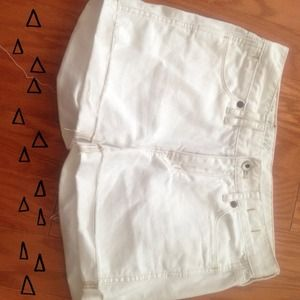 Madewell Denim shorts, 24