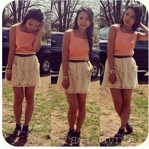 Lace skirt 💕