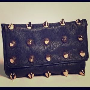 LF Clutches & Wallets - Studded Spike Clutch/Purse