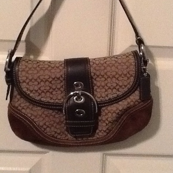 1fff10138682 ... reduced brown coach soho mini satchel purse. 5944e 7653d