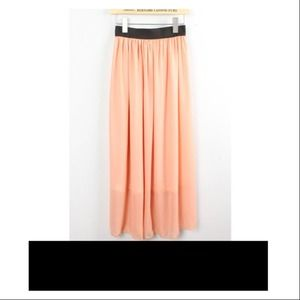 Dresses & Skirts - JUST IN! Pink Chiffon Skirt