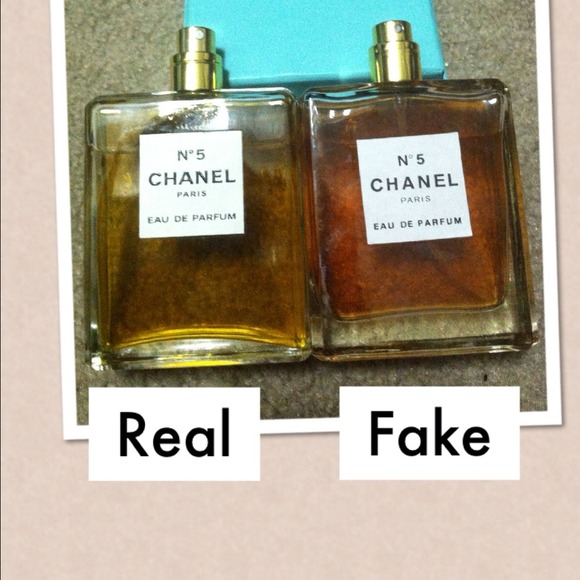 Other   Chanel No5 Perfume, Comparison Of Real Vs Fake