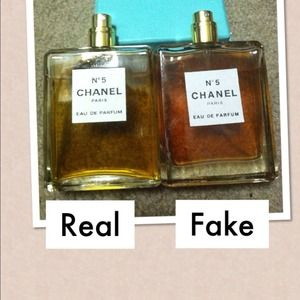 d36fecd1518bd2 Other | Chanel No5 Perfume Comparison Of Real Vs Fake | Poshmark