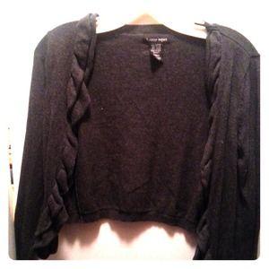 Cardigan/sweater GREY. soft