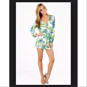 HOST PICK🎀SALE!! New Coronado Blue Blossom Romper