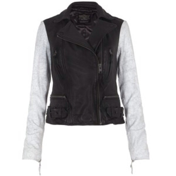 All Saints Jackets & Blazers - ALLSAINTS Albany Biker Leather Jacket 2