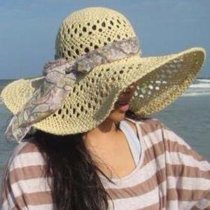 Beautiful Straw Summer Hat