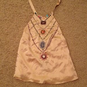 Meghan Fabulous  Tops - Amazing beaded halter top by Meghan Fabulous