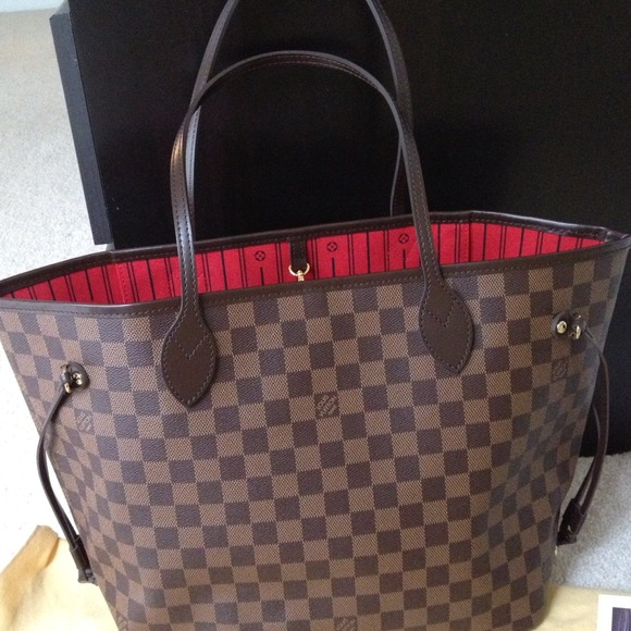 Neverfull Louis Vuitton Damier Ebene