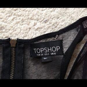 Topshop Dresses - 🚫SOLD🚫 Topshop Black Bodycon Dress