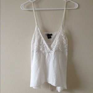 Tops - White crotchet top !