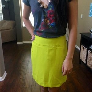 LOFT Skirts - 🎉HOST PICK🎉BRAND NEW❗ LOFT neon mini skirt.