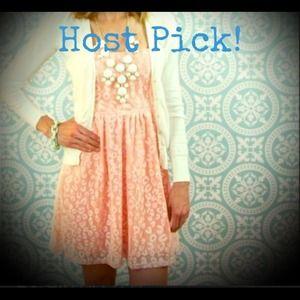 🎉2X HOST PICK🎉Coral strapless dress 😍