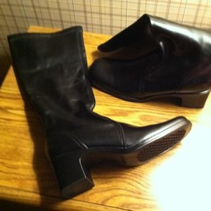 Shoes - Size 7 1/2 Black Boots