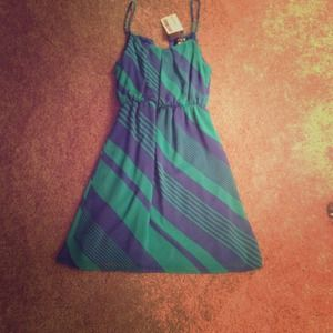 Ripe Dresses & Skirts - **BUNDLED** Green/blue dress
