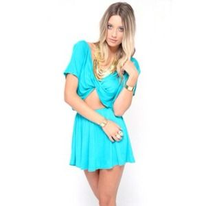 Sabo skirt twist dress
