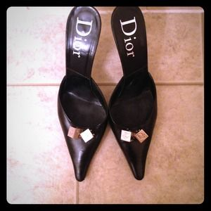 Christian Dior Slide on Heels