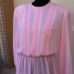 Vintage Henry Lee Pink Dress