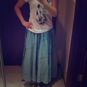 Must have beach style maxi skirt