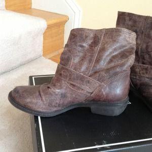 de8b956a089c MIA Shoes - MIA Buckley Buckle Strap Boots