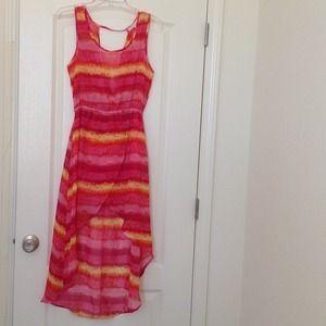 Dresses & Skirts - ⚡SALE⚡NWOT hi-low dress -M