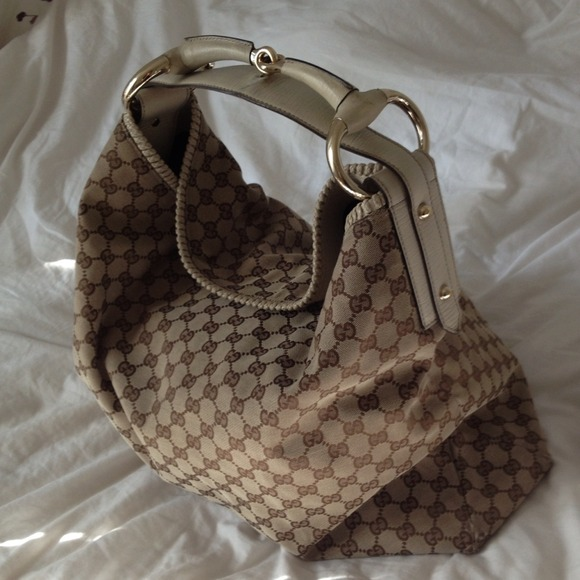 4caa5da1f25066 Gucci Bags | Soldauthentic Horsebit Hobo Purse In Xl | Poshmark