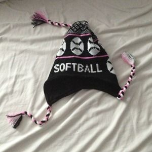 Winter softball hat