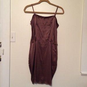 "ANIMALE Dresses & Skirts - ANIMALE   Amethyst Silk ""Slip"" Dress"