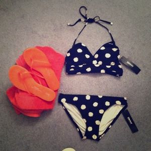 Two piece bathing suit- brand new