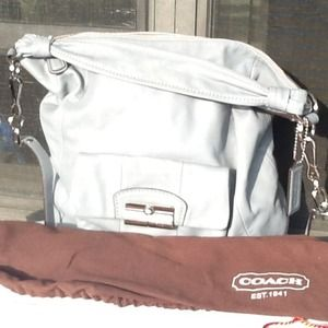 Authentic Coach leather Kristin bag.