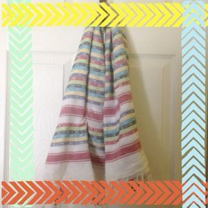 Colorful scarf from Nordstroms