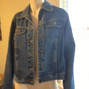 Bill Blass Jackets & Blazers - Blue jean jacket