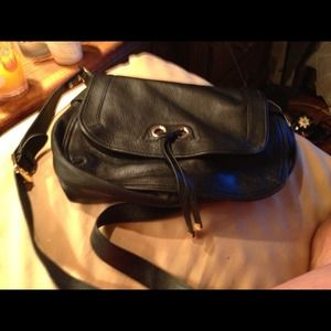Handbags - Leather cross body- bought June 28 for a trip.
