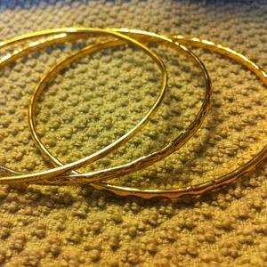 Jewelry - Gold bangles!