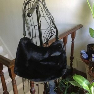 Old Navy Faux Fur bag