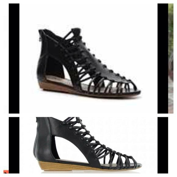 07e538a5357b MIA Not for Sale · MIA Lucille gladiator sandals ...